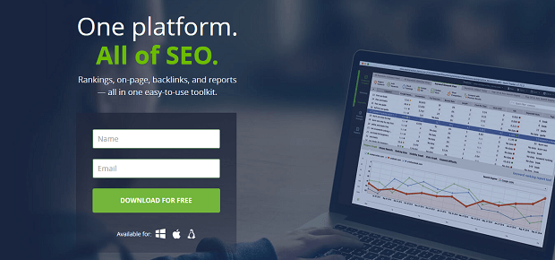 SEO PowerSuite competitor research tool