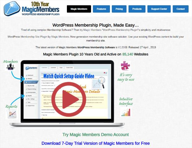 magicmembers plugin