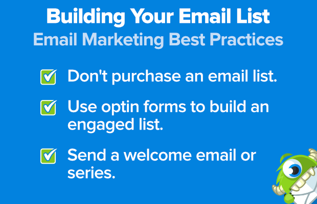 email marketing best practices: building your email list