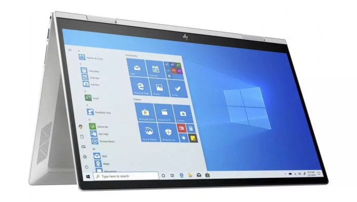 HP Envy x360 15-ed1001nf Argent
