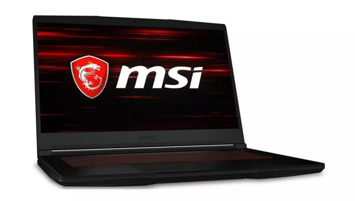 Pour les montages audio ou video : le  GF63 10SCSR-006FR Thin – – Core i7-10750H de chez MSI