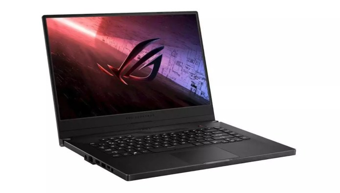 Un ordinateur portable performant en mode gaming :  ROG Zephyrus G15 GA502IV-008T – Ryzen 7 4800HS – Asus
