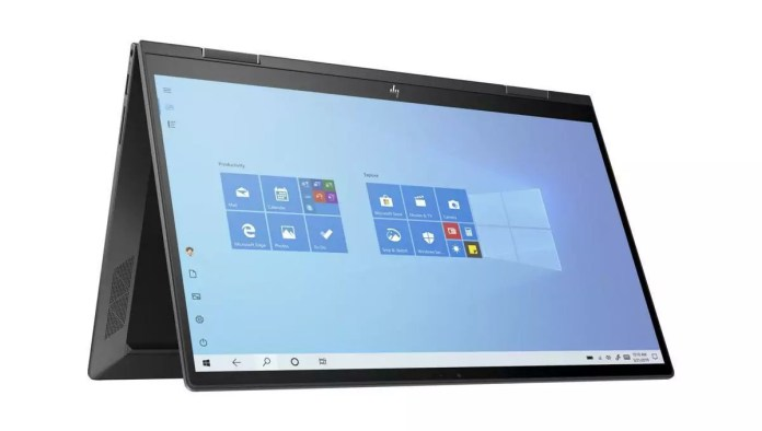 HP Envy x360 15-ee0011nf Argent