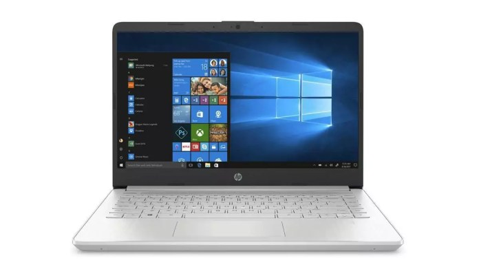 HP 14s-dq1015nf Argent