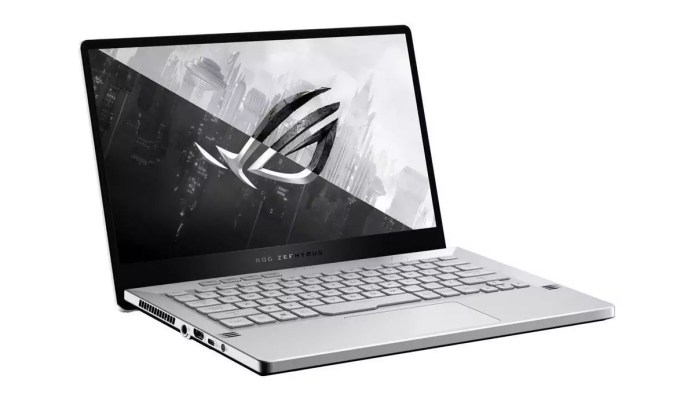 The laptop for traveling :  ROG Zephyrus G14 GA401IU-017T – Ryzen 7 4800HS from Asus