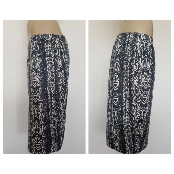 COUNTRY ROAD Ladies Python Snake Print Skirt Size 8