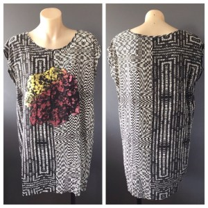 SOMETHING ELSE By Natalie Wood Ladies Sleeveless Top / T-Shirt Dress Size 6