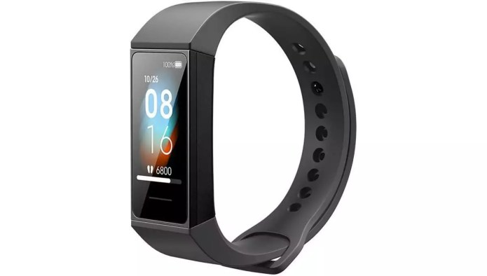 Analysis and handling of the Mi Band 4C from Xiaomi.