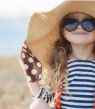 Çocuklarda güneş gözlüğü kullanmalıdır