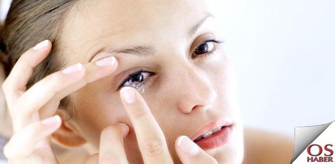 Kontakt lensler çevre kirliliğine yol açıyor