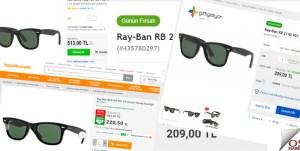 Aynı gözlüğün farklı fiyatlarla satılmasının açıklaması ne olabilir?