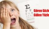 10 bin öğrenci göz taramasından geçirildi