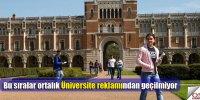 Benim güzel üniversitelerim!