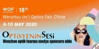 Wenzhou optik fuarına medya sponsoru olduk