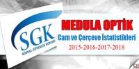 Medula Optik Cam ve Çerçeve İstatistikleri
