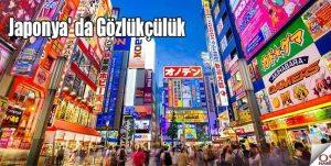 Japonya' da Gözlükçülük