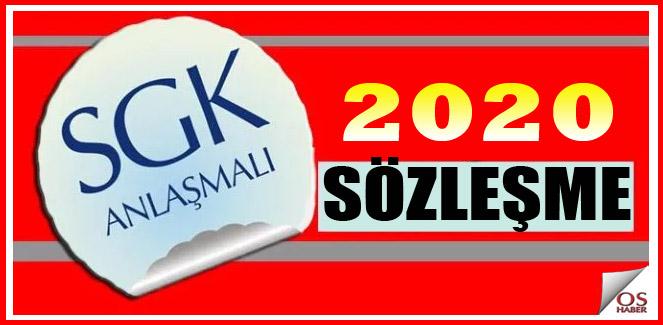 2020 SGK Sözleşme Ücreti Ödeme İşlemleri!