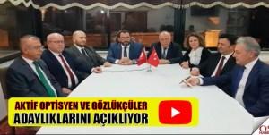 İstanbul Oda yönetimine adayız