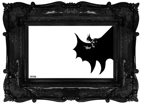 Optivion -THE BATMAN framed