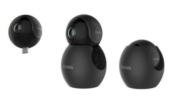 Nubia NeoAir VR 360 Degree Camera With Fisheye and USB Type-C For Smartphones