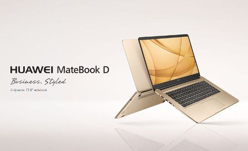 Huawei MateBook D, A narrow bezel adopted 15.6-inch slim notebook PC