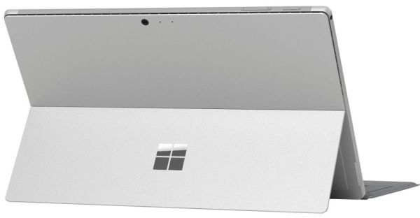 We will find the unmistakable kickstand and frame VaporMg also on the Surface Pro 2017