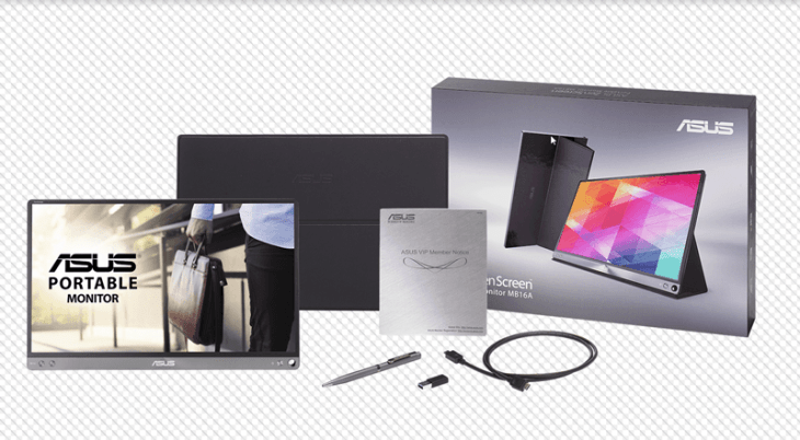 Asus ZenScreen MB16AC A USB Portable Monitor for Multitasking