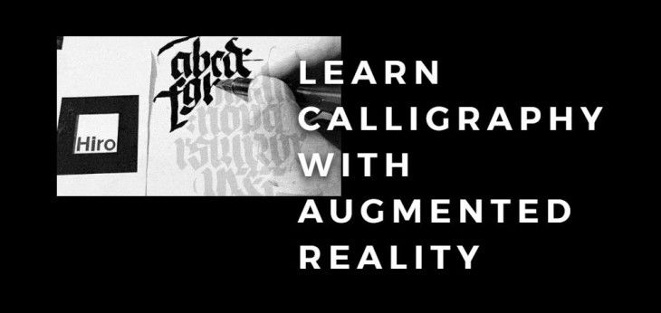 Augmented Reality to practice calligraphy