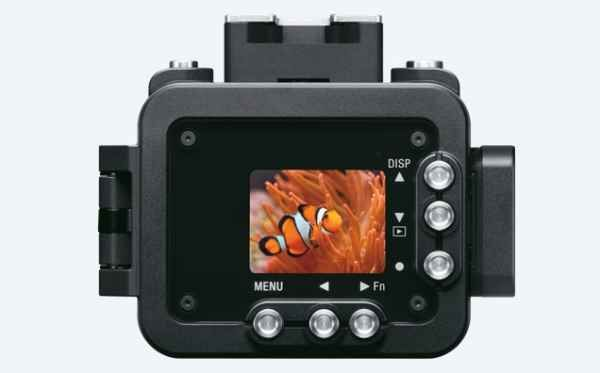 Sony RX0 rear submersible