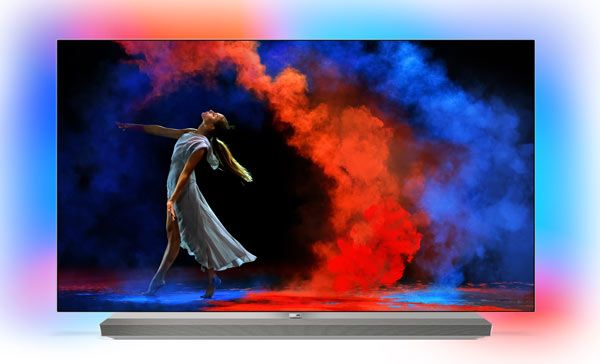 Philips OLED 973, 65 inches 4K with integrated sound bar