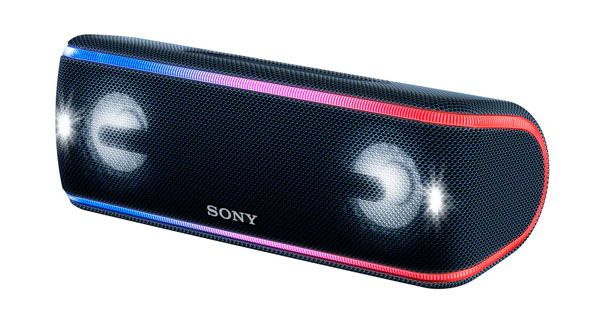Sony SRS-XB41, Bluetooth speaker with multicolor lighting
