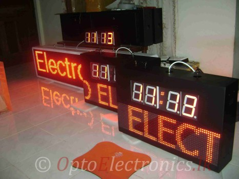 CLOCK LED MATRIX WIRELESS 02