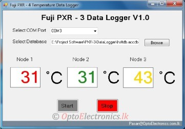 FUJI PXR Temperature Data Logger – MODBUS RTU