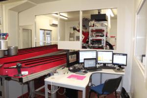 Phenotyping robot line