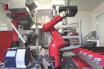 Ligne robotisée de phénotypage