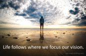 Focused vision