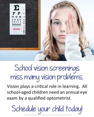 OBS school vision screening
