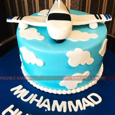 Airplane Birthday Cake in 3 Pounds