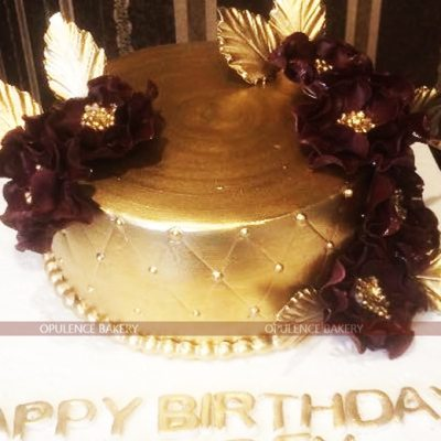 Golden Purple Cake Online Order