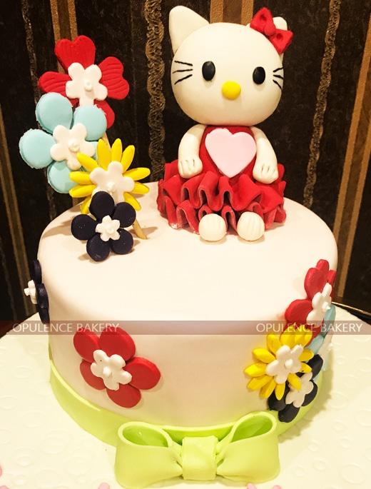 two Pounds Hello Kitty Cake