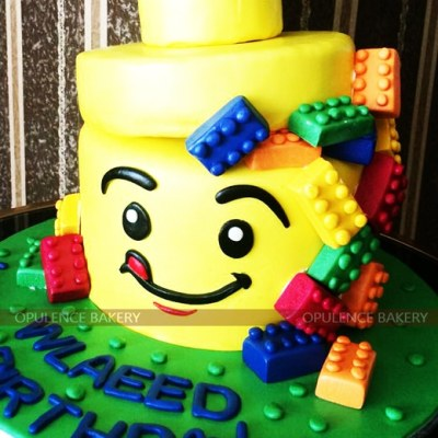 3 Pounds Lego Custom Cake