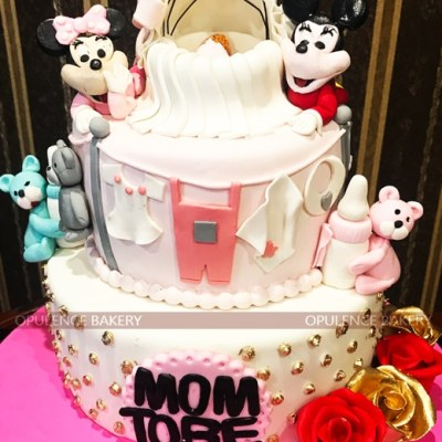 Mom To Be Cake in 6 Pounds