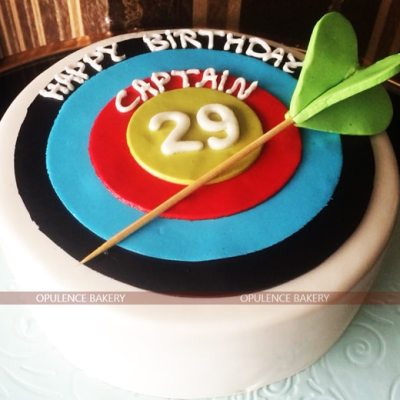 Customized Cake for Captain Online