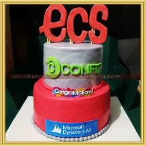 company anniversary cake