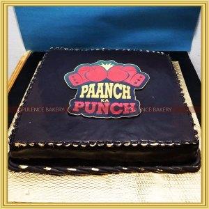 corporate funny cake design