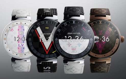 Opulent club Louis Vuitton Smartwatch 3
