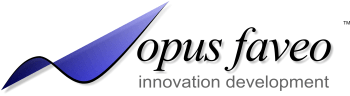 Opus Faveo Innovation Development Logo