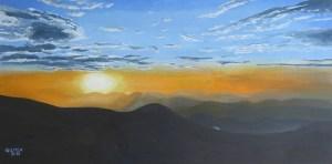 September Sunrise in Wintergreen