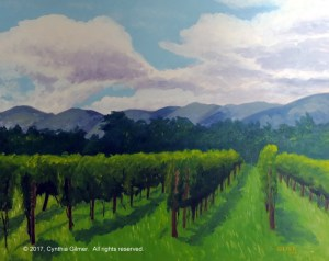 Afton Mountain Vineyard oil