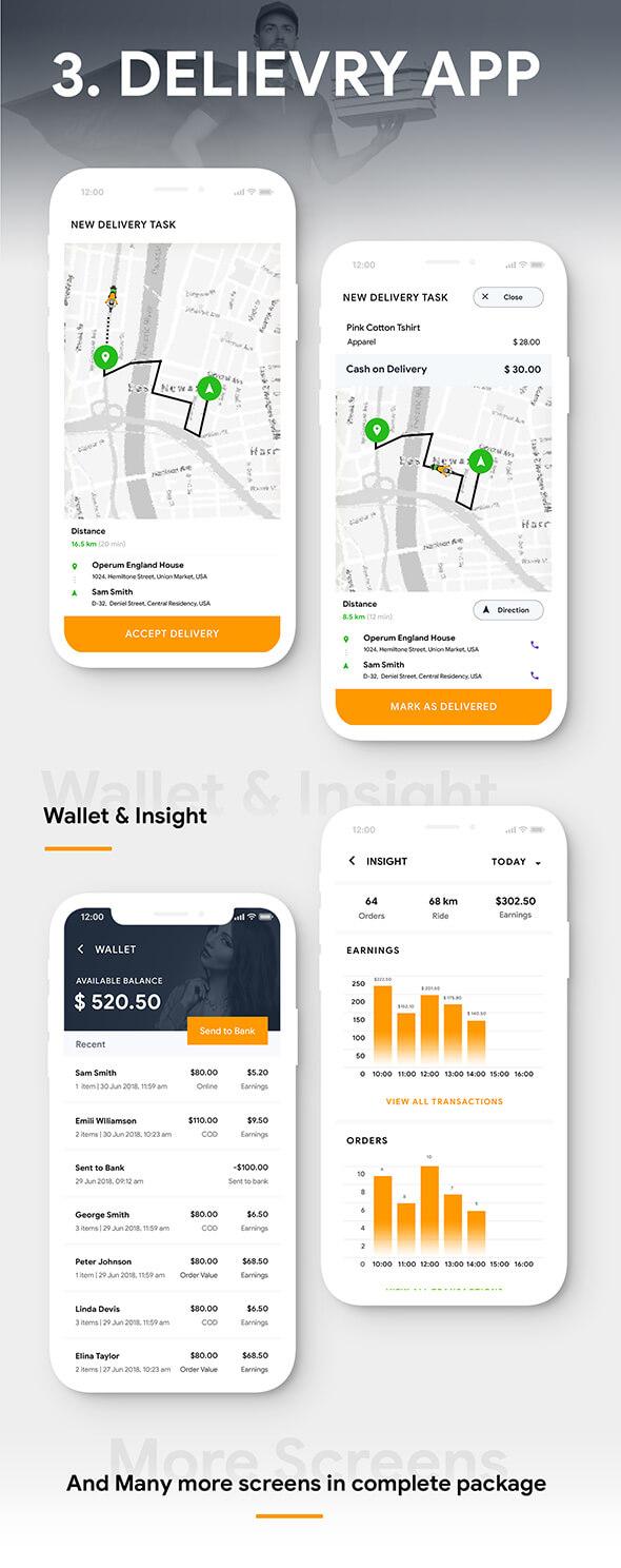 NEW eCommerce Flutter App Template | 3 Apps | User App + Vendor App + Delivery App | ShopCart - 9